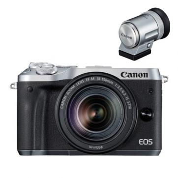 EOS M6 EF-M18-150 IS STM EVFキット シルバー 13,000円キャッシュバックキャンペーン2018年1月14日(日)まで