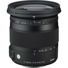 17-70mm F2.8- 4 DC MACRO HSM Contemporary ソニー用